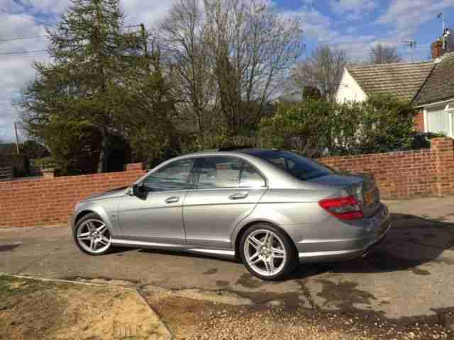 MERCEDES BENZ C350 CDI SPORT BLUE EFFICIENCY