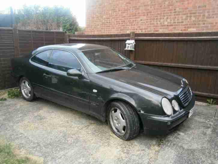 Mercedes benz clk 320 elegance auto 1998 spares or repair for 1998 mercedes benz clk 320