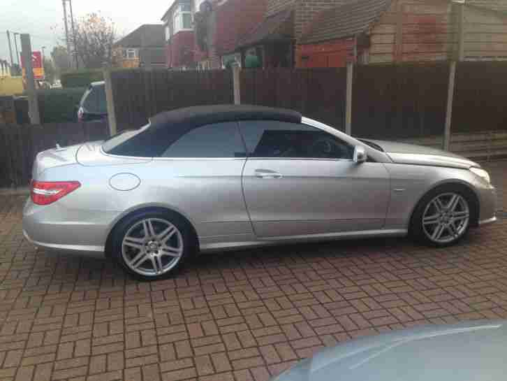 MERCEDES-BENZ E-CLASS E350 CDI BLUEEFFICIENCY SPORT Automatic Convertible