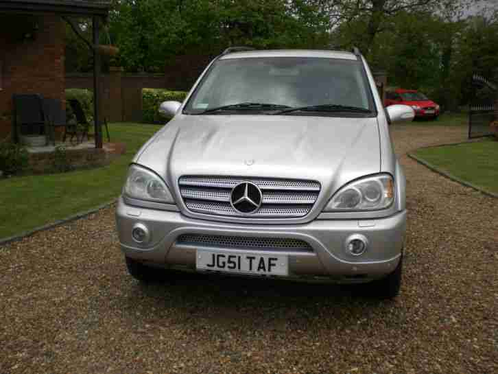 Mercedes benz m class 5 0 ml500 auto full amg spec 2002 for 2017 mercedes benz ml500 price