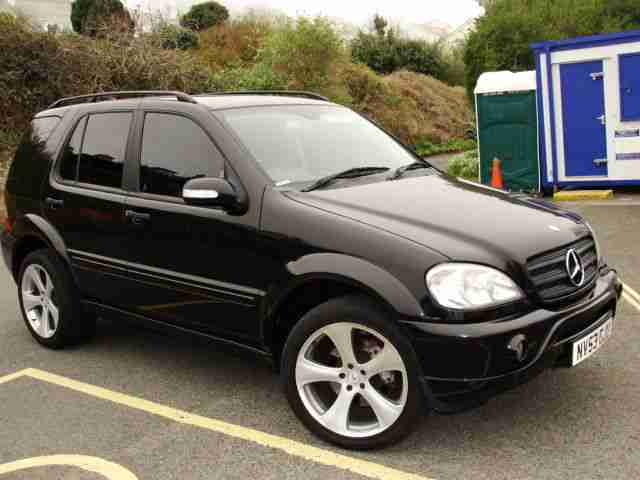 mercedes benz ml 270 cdi amg only 79 000 miles warranted. Black Bedroom Furniture Sets. Home Design Ideas