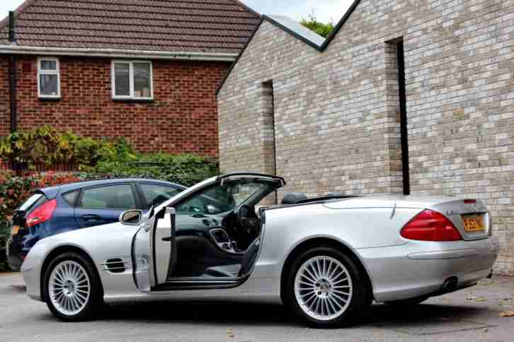 MERCEDES BENZ SL500 R230 FULL MERCEDES