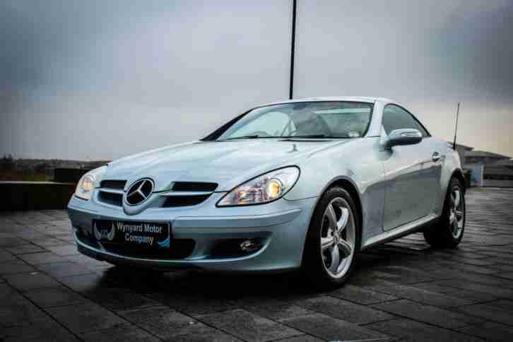 Mercedes benz slk 200 kompressor automatic convertible 56 for Mercedes benz slk convertible for sale