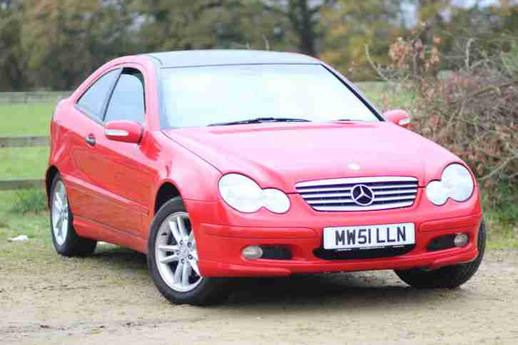 MERCEDES C180 COUPE C CLASS PANORAMIC ROOF
