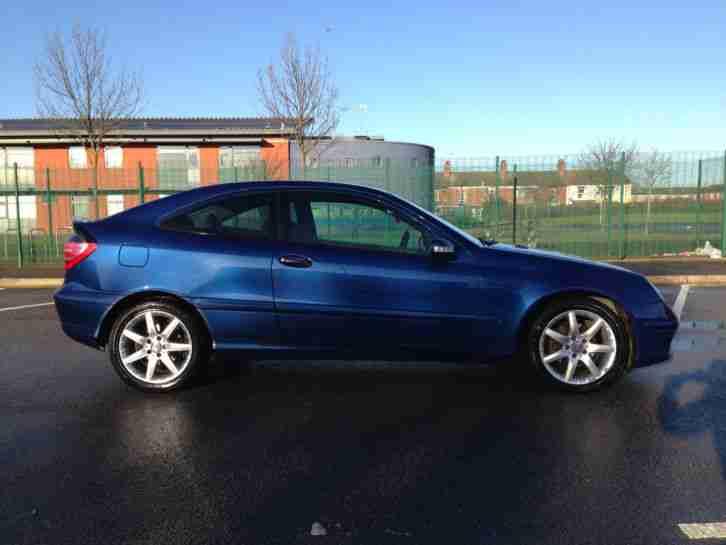 mercedes c220 cdi diesel se auto 2003 plate blue 12. Black Bedroom Furniture Sets. Home Design Ideas