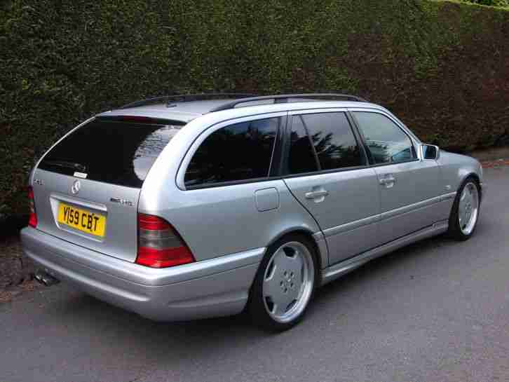 MERCEDES C43 AMG ESTATE ONE OF ONLY 800 83K KMS LEFT HAND DRIVE A C LHD
