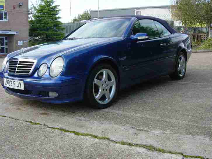 MERCEDES CLK 320 ELEGANCE CONVERTIBLE.2003.AUTO.ONLY 67000 MILES.SERVICE HISTORY