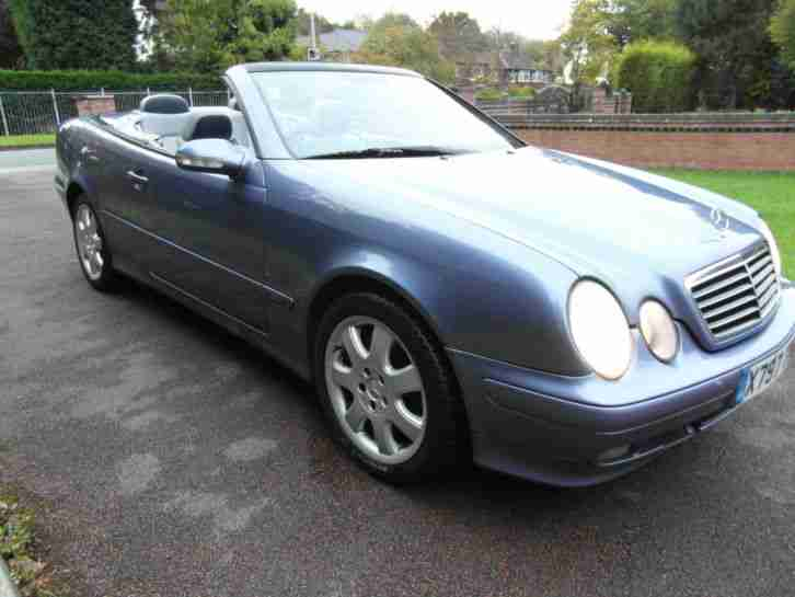 MERCEDES CLK 430 CONVERTIBLE AVANTGARDE
