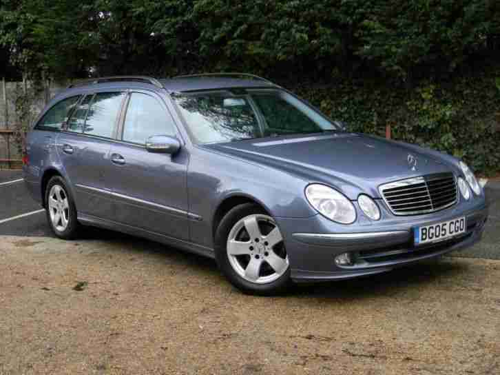 mercedes e class e270 cdi avantgarde 2005 diesel automatic in blue. Black Bedroom Furniture Sets. Home Design Ideas