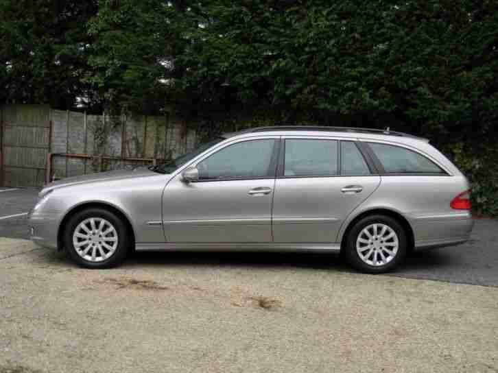 mercedes e class e350 elegance 2007 petrol automatic in silver car for sale. Black Bedroom Furniture Sets. Home Design Ideas