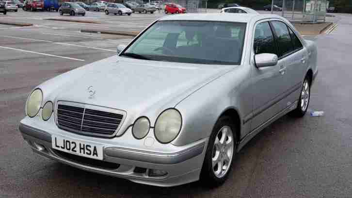 MERCEDES E220 CDI AUTOMATIC 2002(FULL SERVICE