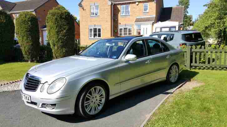 MERCEDES E280 CDI SPORT AUTO FULL MOT FULLY