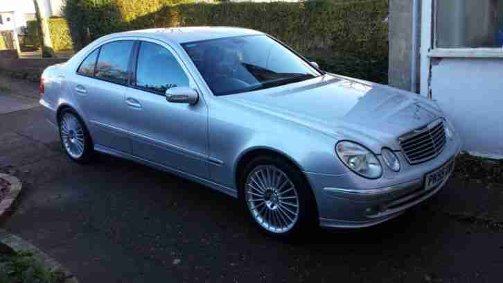 Mercedes e320 cdi 7g tronic 2005 55plate car for sale for 2005 mercedes benz e320 cdi diesel for sale