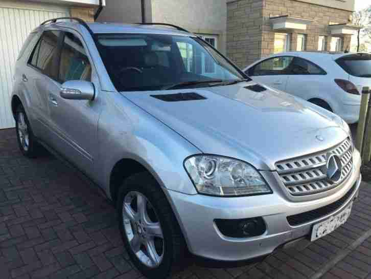 MERCEDES ML W164. Mitsubishi car from United Kingdom