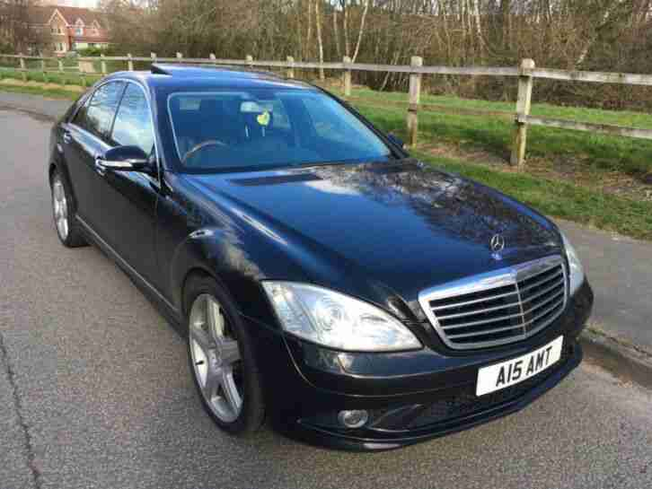 MERCEDES S CLASS. Mercedes-Benz car from United Kingdom