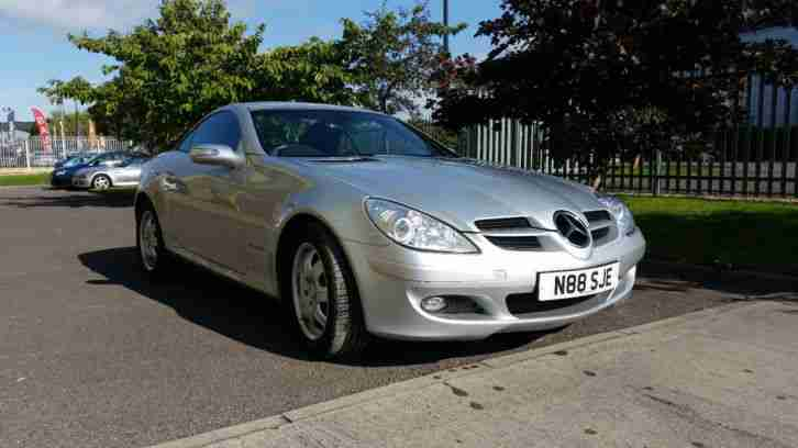 MERCEDES SILVER SLK New Model (SOLD with