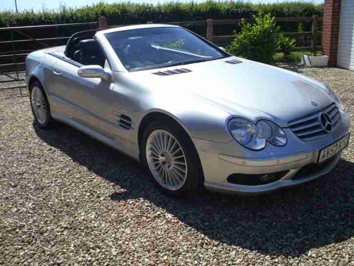 MERCEDES SL 55. Mercedes-Benz car from United Kingdom