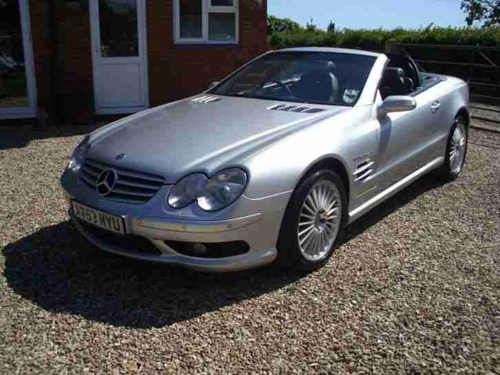 MERCEDES SL 55 AMG 2003 (53) FULL SERVICE HISTORY