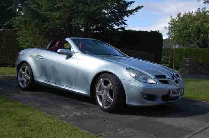 MERCEDES SLK280 ROADSTER 2006 FULL LEATHER