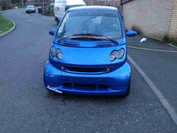 MERCEDES SMART CAR WITH FULL BRABUS KIT FOR SALE