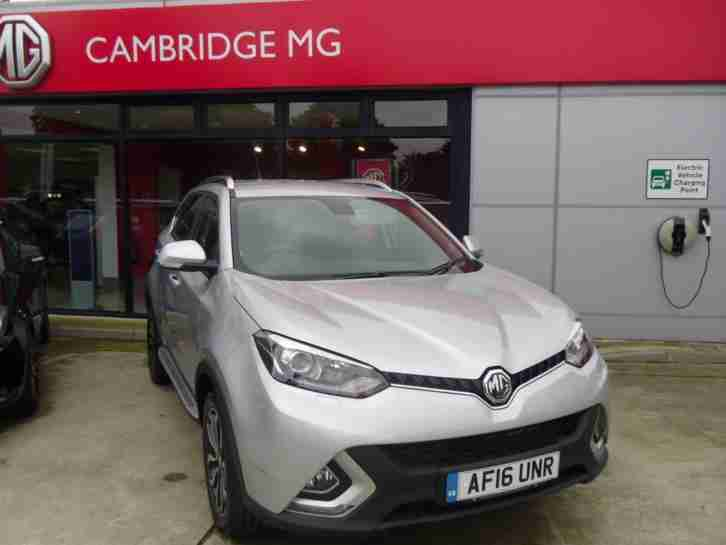 MG GS Exclusive Automatic, MG's New Model For 2016
