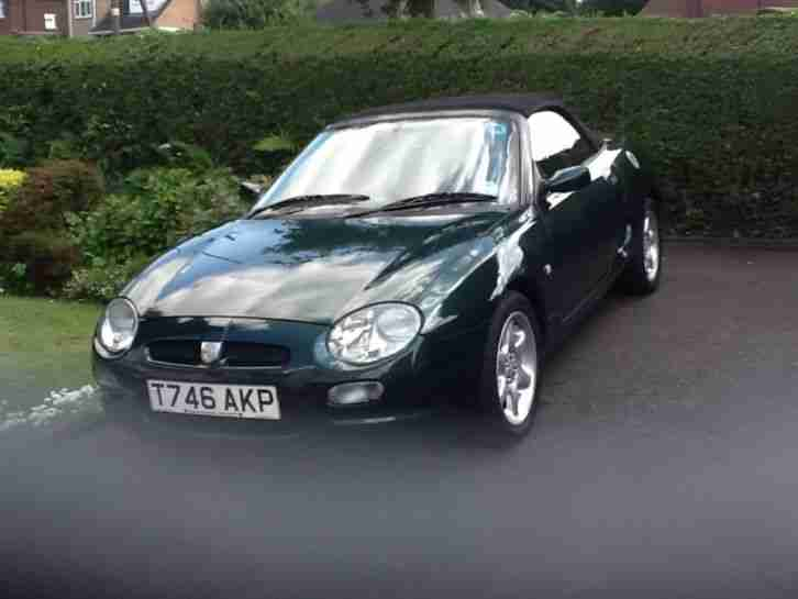 MG F SPORTS. MG car from United Kingdom