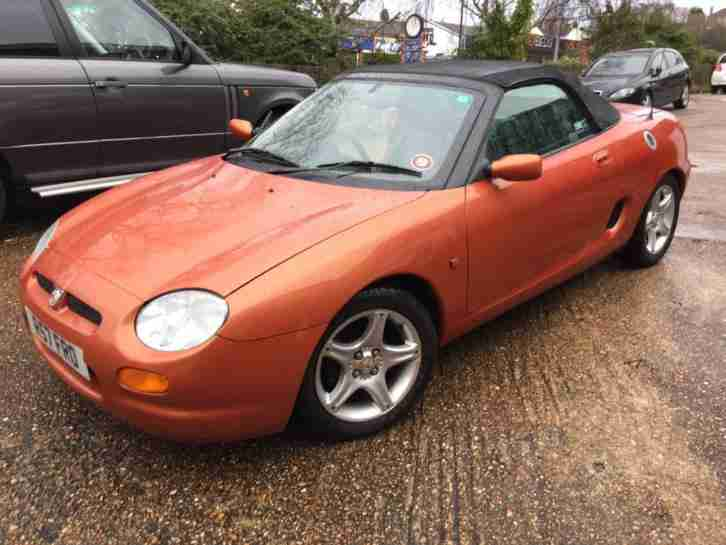 MG MGF Sports PETROL MANUAL 1998/R