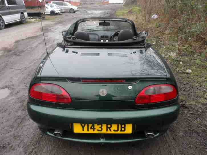 MG Mgf convertable steptronic sport steering wheel gear paddles 76000 miles