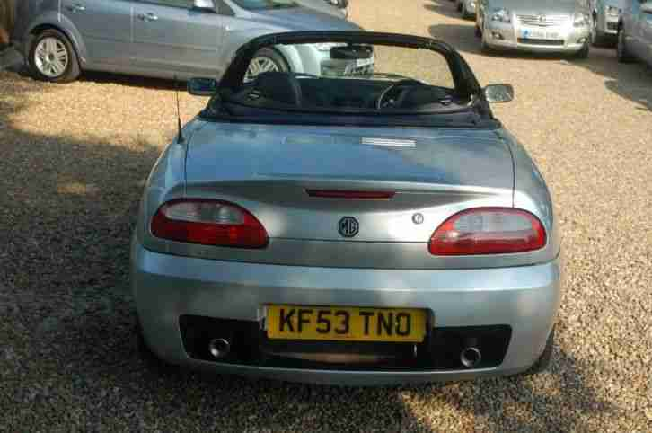 MG TF 120 Stepspeed Sports PETROL AUTOMATIC 2003/53