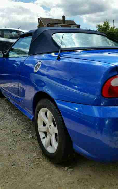 MG TF 135 2 door convertible leather 04 on private plate like z3 z4 swap px why