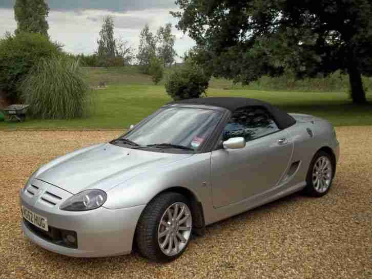 MG TF 160 SPORT 2004 WITH EXCLUSIVE NUMBER PLATE.