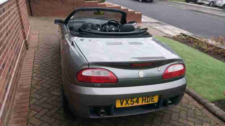 MG TF MGTF 1.8 135 2004 54 Plate 39 XPower Grey 39877 Miles MOT September