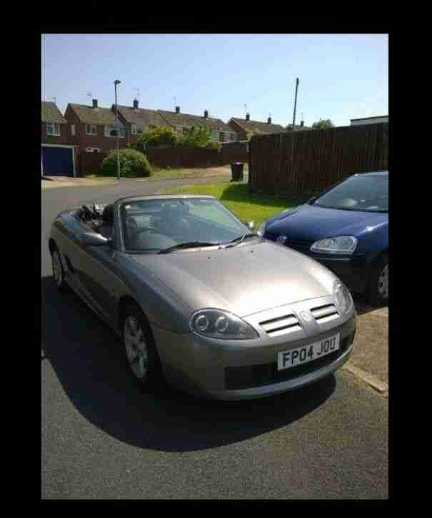 MG TF soft top 1.8 grey