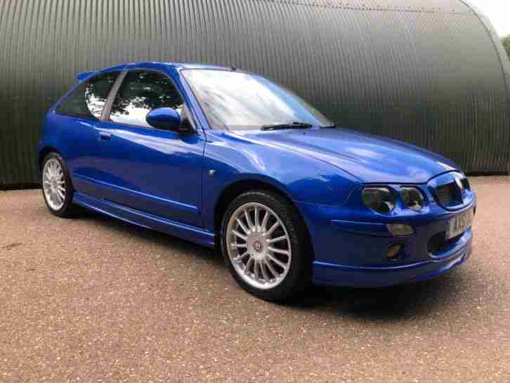 MG ZR 105+. MG car from United Kingdom
