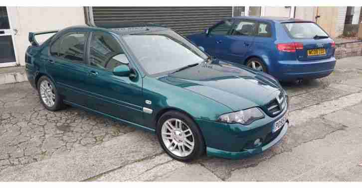 MG ZS 120. MG car from United Kingdom
