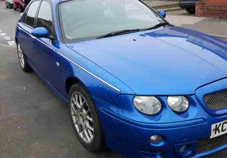 MG ZT 2.5 v6 160, 72k, Trophy Blue, Half Leather Cam Belts Done