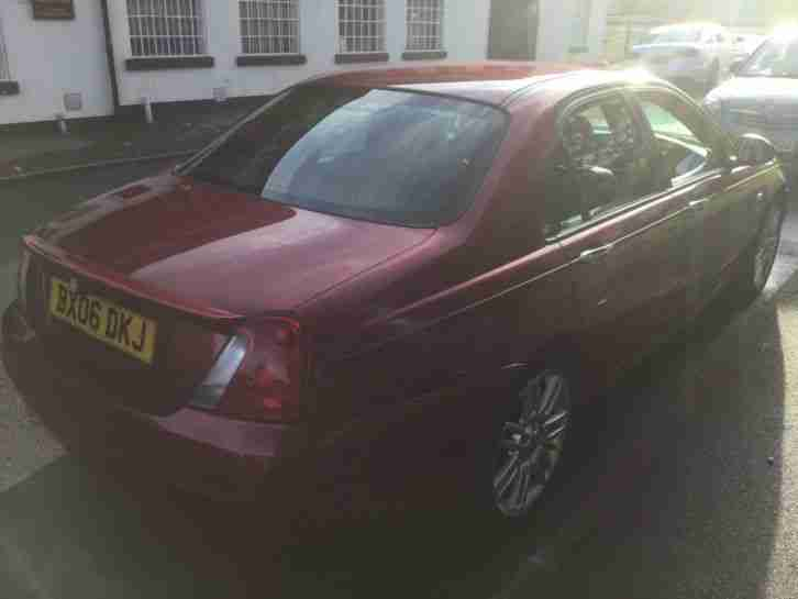 MG ZT CDTI DIESEL AUTO RED. 2006 LOW MILEAGE. ROVER 75