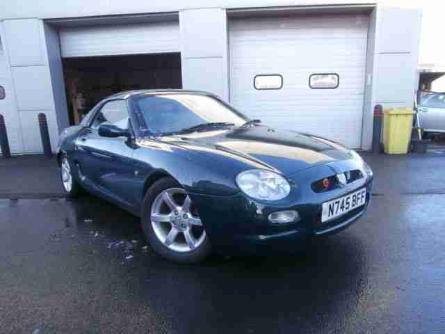 MGF 1.8i VVC. Rover car from United Kingdom
