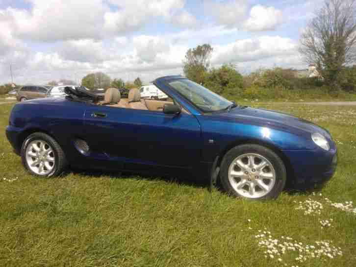 MGF CONVERTIBLE LOW LOW MILEAGE MIGHT TAKE PX