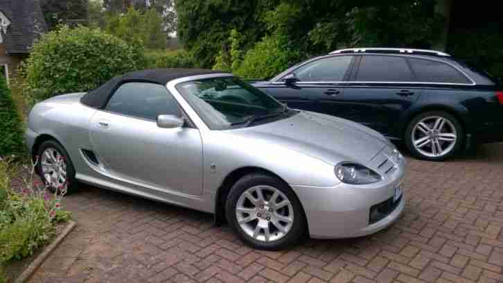 MGF MGTF**ONLY 16,000 MLS** 2006 SILVER LATE LONGBRIDGE CAR SUMMER USE ONLY