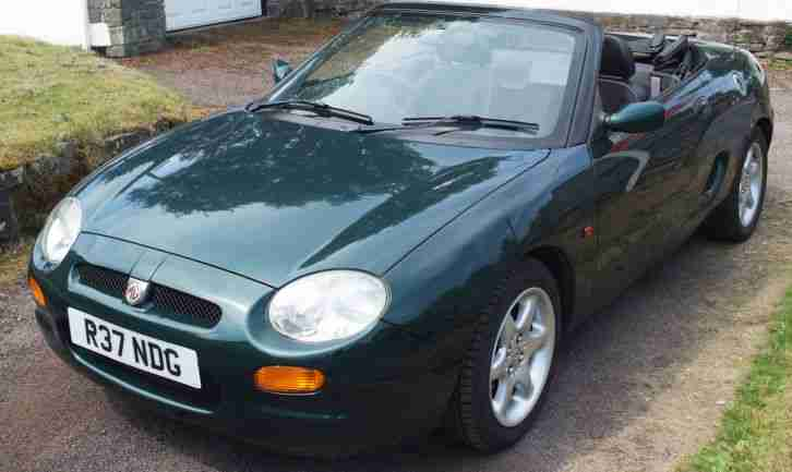 F in British Racing Green. 1997.