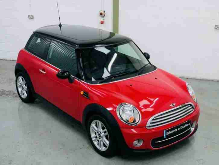 MINI 1.6 COOPER 3DR, MANUAL, PETROL, CHILI PACK, LEATHER TRIM, LIGHT PACK