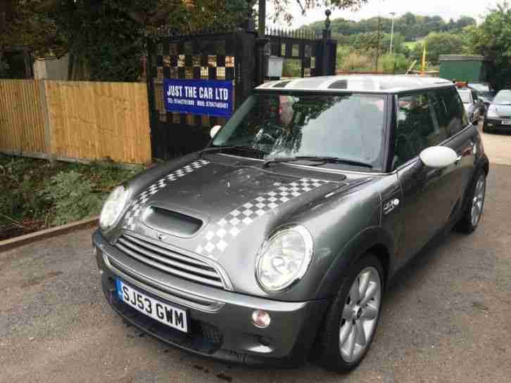 1.6 Hatch Cooper S Gray With White