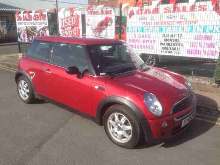 Mini 16 One Seven Edition Low 72434 Miles Clean Example Car