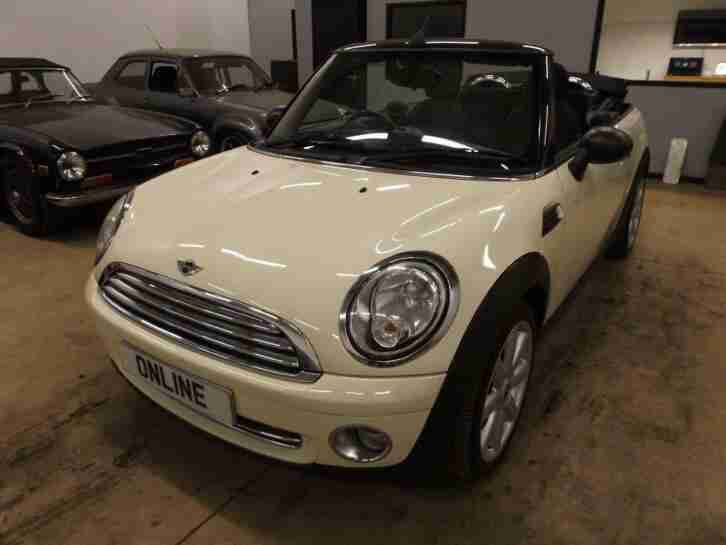 MINI CABRIOLET Opt Start Stop One White Manual Petrol, 2010