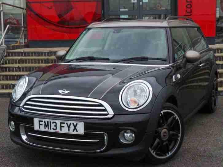 Mini Clubman 16 Cooper Bond Street 5dr Black Car For Sale