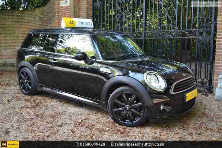 Mini Clubman Cooper 16 2010 Petrol Manual In Black Car For Sale