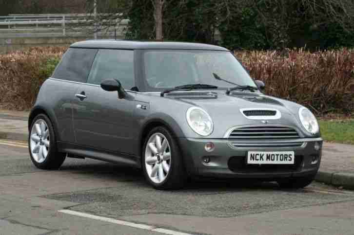 mini clubman cooper s 2002 petrol manual in grey car for sale. Black Bedroom Furniture Sets. Home Design Ideas