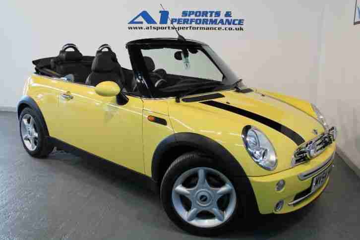 MINI CONVERTIBLE COOPER 2004 Petrol Manual in Yellow