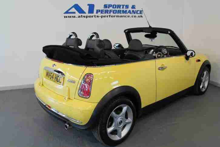 mini convertible cooper 2004 petrol manual in yellow car 04 mini cooper manual transmission fluid 04 Mini Cooper Rear Spoiler